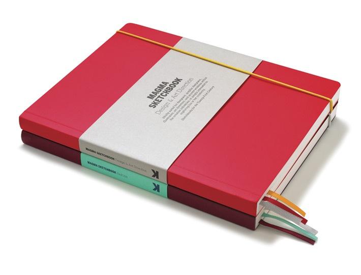 Magma Sketchbooks / design by Studio8 Design