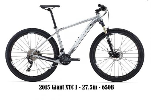 2015 Giant XTC 1 - 27.5in – 650B - City Cycles - For the best deals on two wheels