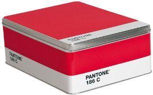 Pantone 2011-037 Storage Box, Ruby Red 186C