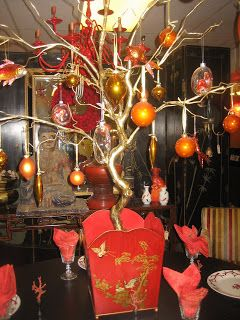 Chinoiserie Themed Christmas