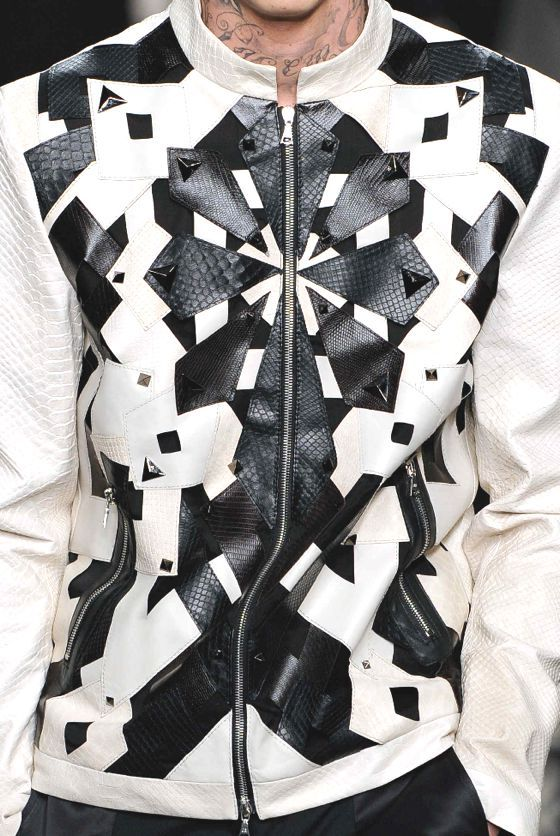 patternprints journal: PRINTS AND PATTERNS FROM MILAN CATWALKS MENSWEAR S/S 2014 / 4