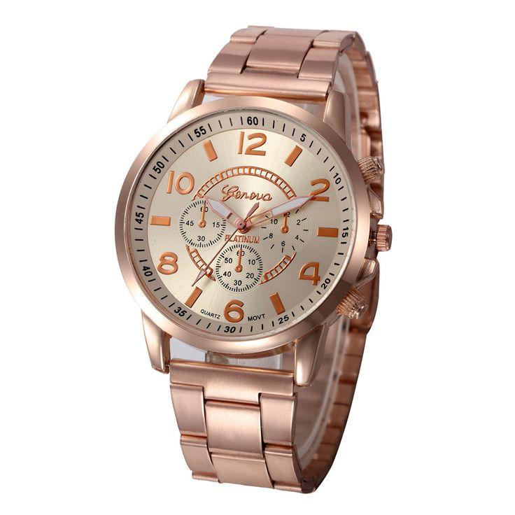 $4.93 (Buy here: https://alitems.com/g/1e8d114494ebda23ff8b16525dc3e8/?i=5&ulp=https%3A%2F%2Fwww.aliexpress.com%2Fitem%2FLadies-Watch-Luxury-Geneva-Women-Watches-Stainless-Steel-Relogio-Feminino-Analog-Quartz-Wrist-Watches-Relojes-mujer%2F32769615206.html ) Ladies Watch Luxury Geneva Women Watches Rose Gold Stainless Steel Relogio Feminino Wrist Watches Dames Horloge Feida for just $4.93