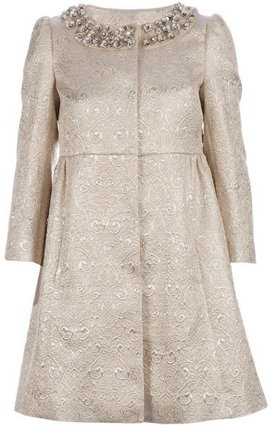 Red Valentino ~ Embellished Coat