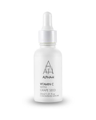 Vitamin C - Give tired, dull, pigmented and ageing skin a boost with this daily serum formulated with Vitamin C, Grape Seed Extract and Hyaluronic Acid.