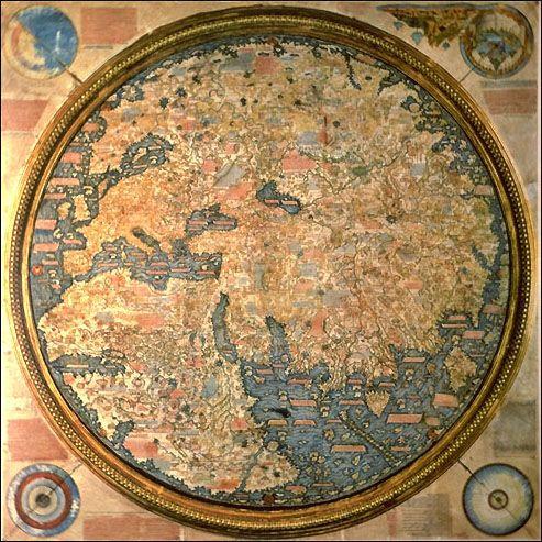 FraMauroMap - Mapamundi de Fra Mauro -1457-1459