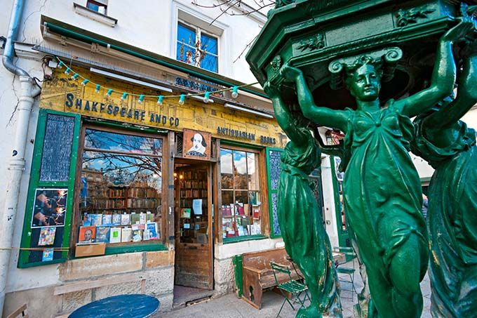 Shakespeare and Co – Paris, France These days, this place is as much of a tourist attraction as it is a bookshop. Next to Notre Dame Cathedral, this cramped and chaotic place (especially when it is full of tourists) is incredibly seductive. Upstairs, they house travellers who work in the book shop for a few hours each day and below is a wishing well that many throw their coins into.