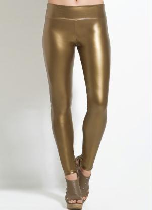 Calça Legging Dourada - Posthaus