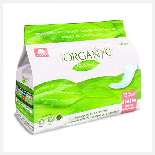 Organyc | First Days | Organic Cotton | Maternity Pads at little green footprints
