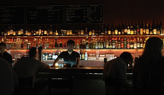 Buenos Aires' hotpost 878 is the after hours bar of choice for many chefs & wineos in the city.