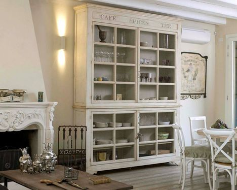 Credenza Provenzale Bianca Ikea : Come arredare una casa in perfetto stile provenzale soggiorno e