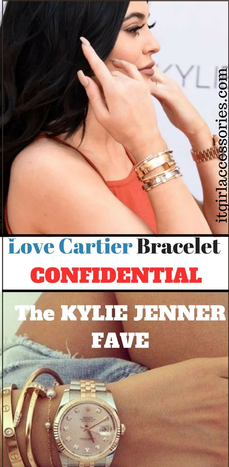 Cartier Bracelet Love. Explore EVERY COOL THING there is to know about The Cartier Love Bracelet. Kylie Jenner is best known for stacking them on her wrists.  We guarantee that you'll find the 411 on the Cartier Bracelet to be super shocking and interesting! Check out Cartier Bracelet Kylie, Cartier Bracelet silver, Cartier Bracelet diamond, Cartier Bracelet replica, Cartier Bracelet nail, and more.    #cartierbraceletlove  #cartierlovebracelet #fashionbracelet #diamondbracelet