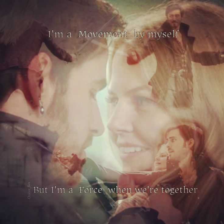 """Once Upon a Time  CaptainSwan  Lyrics from  """"Make me better""""  by Fabolous ft. Ne-yo"""