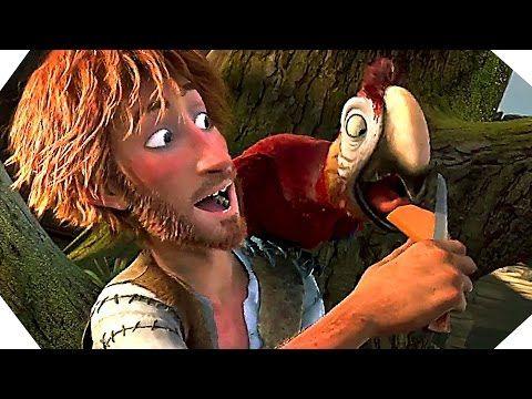 THE WILD LIFE Trailer (Robinson Crusoe Movie - 2016) - YouTube