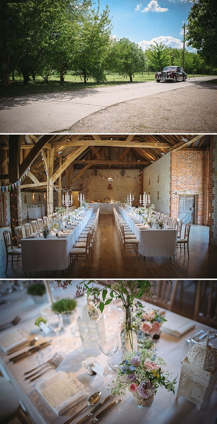 An English Country Garden themed Wedding At Bury Court Barn Hampshire | Rock My Wedding