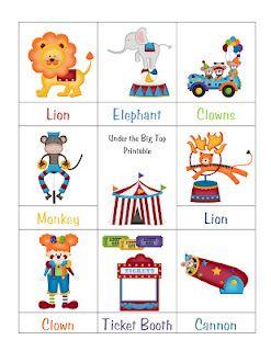 free circus printable circus crafts preschoolpreschool - Printable Preschool Crafts