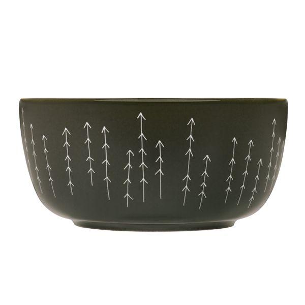 Sarjaton bowl 0,68 L, Metsä mud  Manufacturer: Iittala  Design: Harri Koskinen, Musuta, Samuji