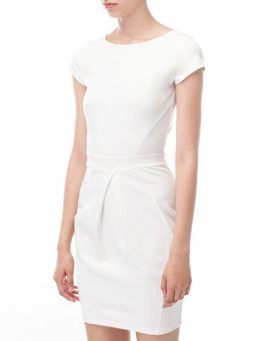 Tulip skirt dress - stradivarius
