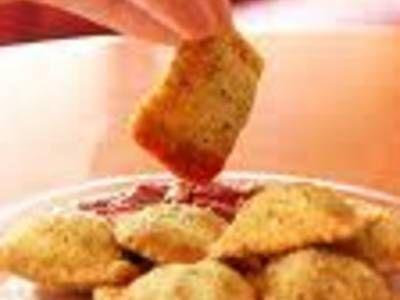 Olive Garden's Toasted Ravioli