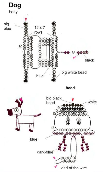 389 best Bead bugs ANIMALS etc images on Pinterest