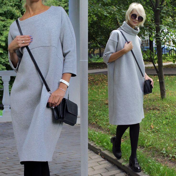 Купить Платье и платье-свитер EGGDRESS BOMBER - платье трикотажное, платье свободное