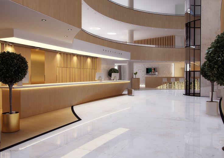 Ideas de Contract de Vestibulo, estilo Vanguardista diseñado por Mladen Labarh…