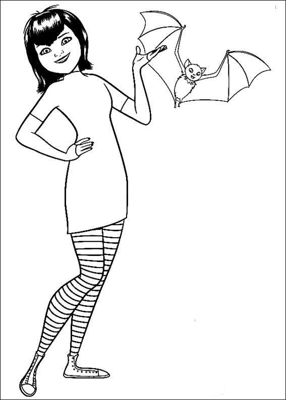 Hotell Transylvanien Målarbilder för barn Teckningar