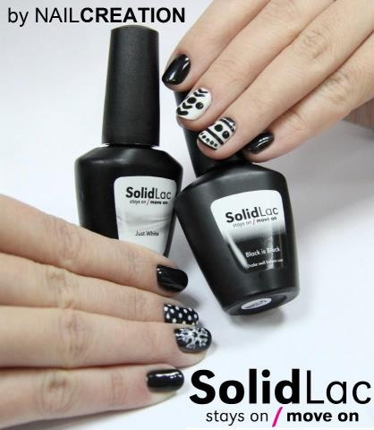 Nail Art with Solid Lac