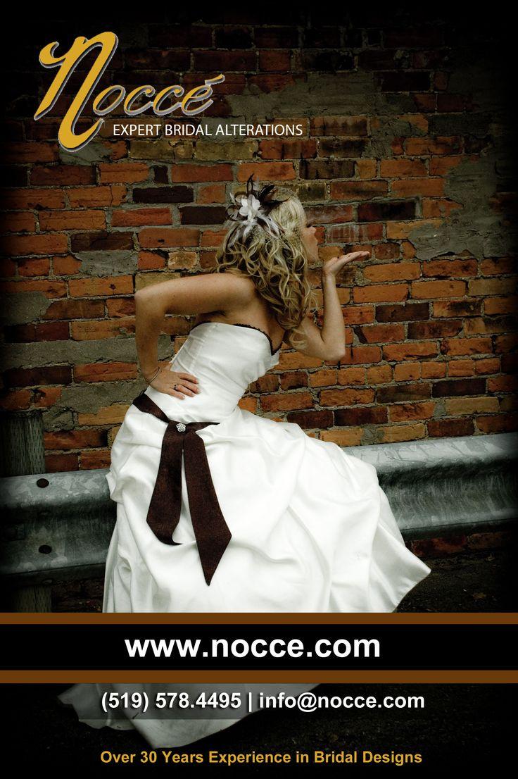 Best Alterations Services for Bridal & Bridesmaid Dress in Burlington Area: Nocce Bridal Alterations #NocceBridalAlterations