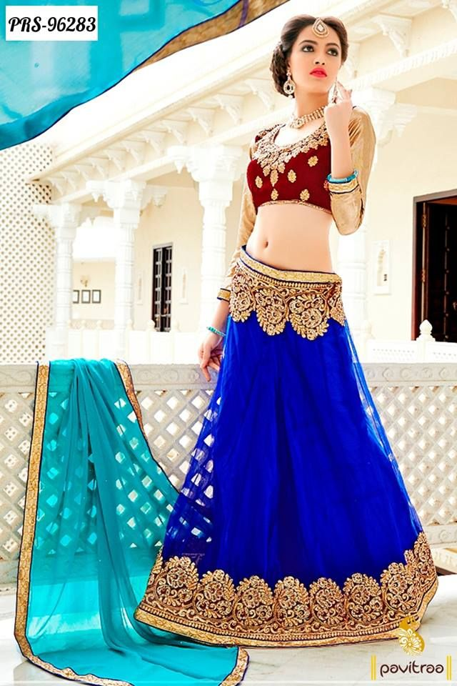 #Diwali and Karwa Chauth Special Beautiful #Lehengas Online Shopping @ http://www.pavitraa.in/store/lehengha-choli/ Festival Offer: Flat 31% to 35% Off with COD & Free Shipping India