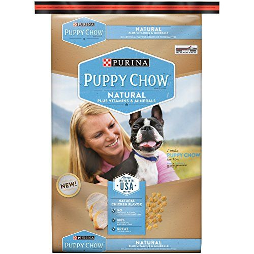 Purina Puppy Chow Dry Dog FoodNatural Plus Vitamin and Minerals 155Pound Bag Pack of 1 * To view further for this item, visit the image link.
