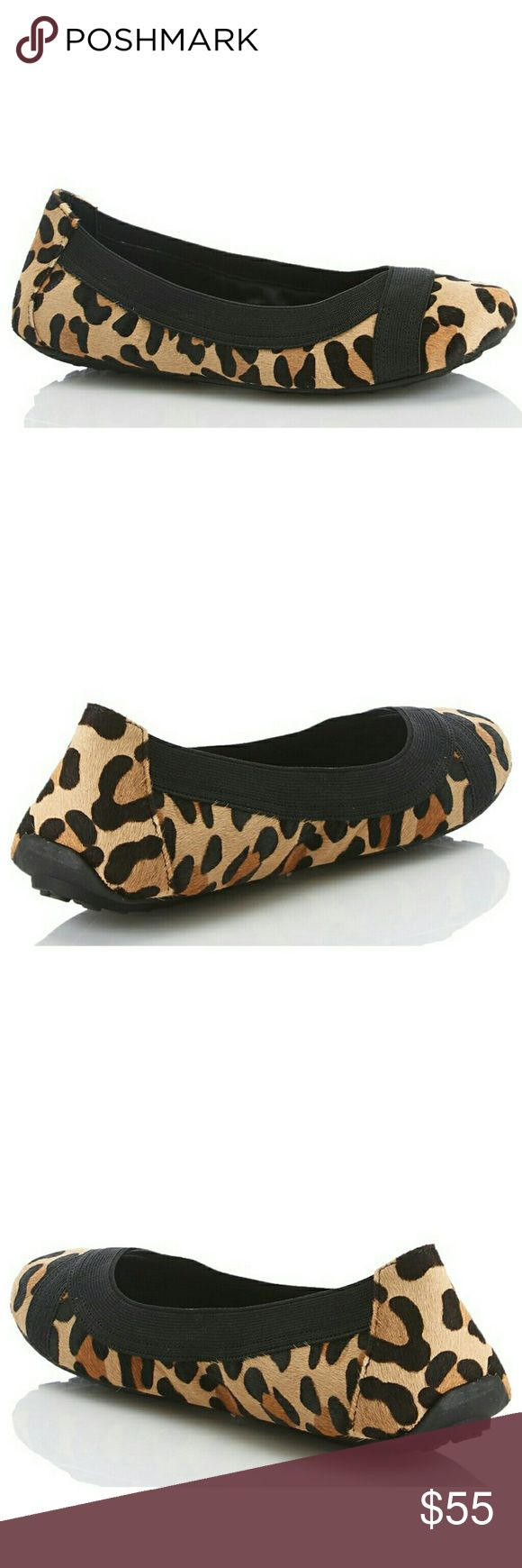 New! Adam Tucker Me Too Ballet Flats Animal Print An elasticized topline perfects the fit of quintessential animal print flats. A foam-padded insole and an ultra-flexible sole offer ultimate comfort, cementing the versatile style as a daily favorite.  Brushed faux fur exterior with animal print  Elasticized top for a comfortable fit  Padded insole  Man-made upper/lining/rubber sole  By Adam Tucker by Me Too Adam Tucker Shoes Flats & Loafers