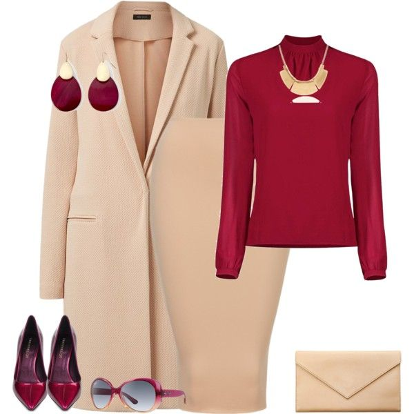 outfit 1626 by natalyag on Polyvore featuring Tamara Mellon, Carré Royal and Mixit
