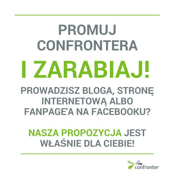 Program partnerski - zarabiaj na swojej stronie >> www.confronter.pl/pl/program-partnerski