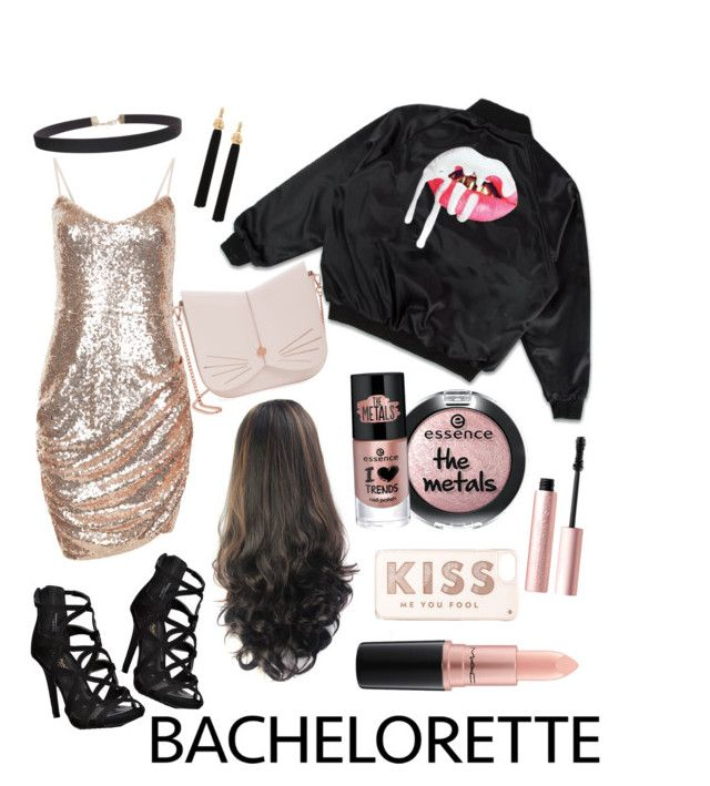 """""""Bachelorette Babe"""" by bianca-lee-jardim on Polyvore featuring Ted Baker, Kate Spade, Humble Chic, Yves Saint Laurent, Too Faced Cosmetics, MAC Cosmetics, modern and Bachelorette"""
