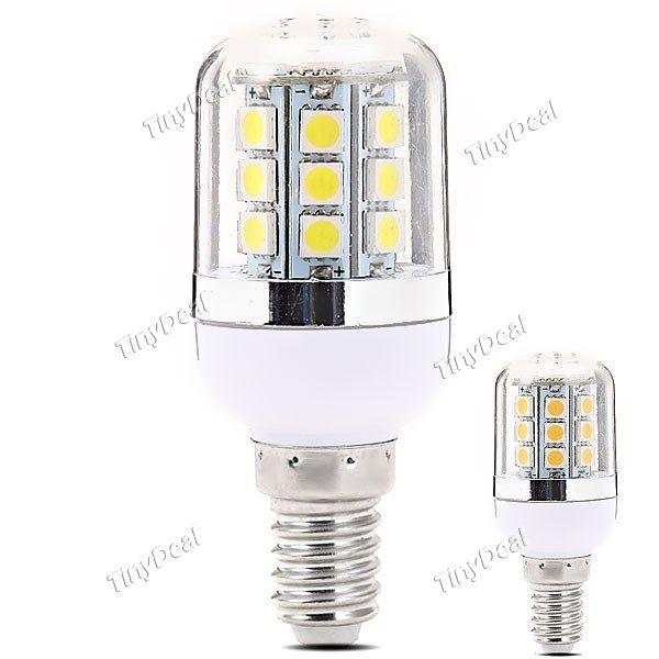 220-240V E14 4W 300LM 27-LED SMD 5050 LED Corn Bulbs http://www.tinydeal.com/220-240v-px250pz-p-122457.html