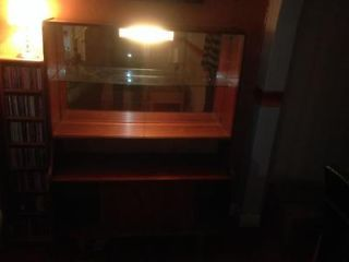 60s teak cocktail display cabinet. Ruislip Picture 3