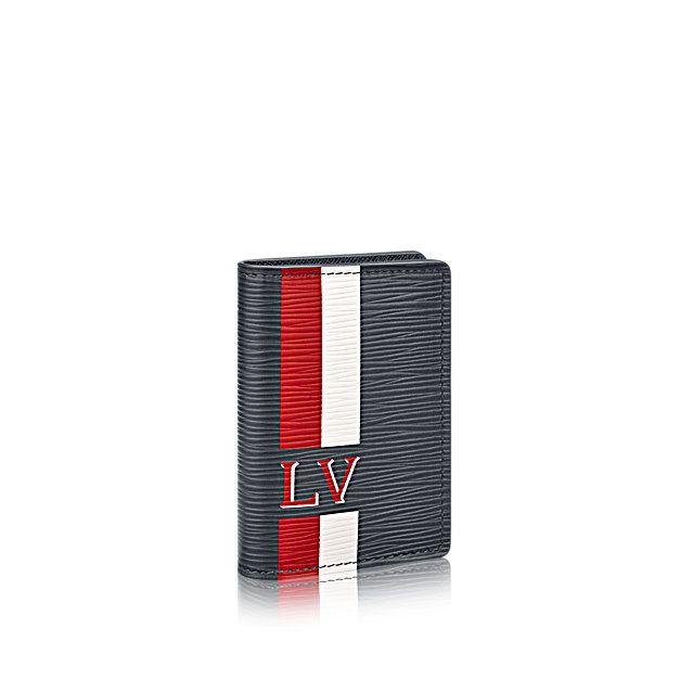 Pocket Organizer Stripes +Epi Leather - Small Leather Goods | LOUIS VUITTON