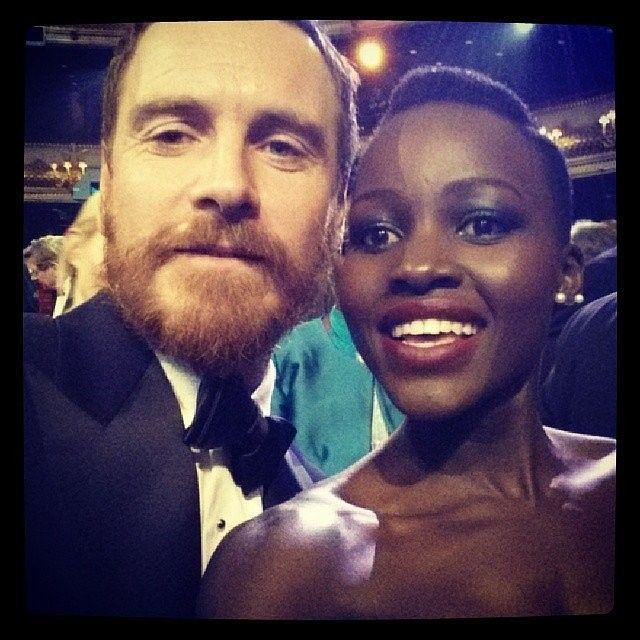 Michael Fassbender y Lupita Nyong - http://www.poprosa.com/estados-unidos/michael-fassbender-y-lupita-nyong-o-juntos-que-me-dices?