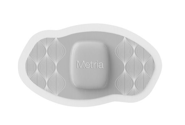 "The Metria Wearable Sensor is another new tool aimed at helping the healthcare industry shift toward prevention. It works like this: The user attaches the wearable sensor, which uses ""skin-friendly"" adhesive; the sensor collects data, such as the number of hours slept and breaths per minute; and the sensor wirelessly transmits a summary of the data to the user's or caregiver's device, such as a smartphone."