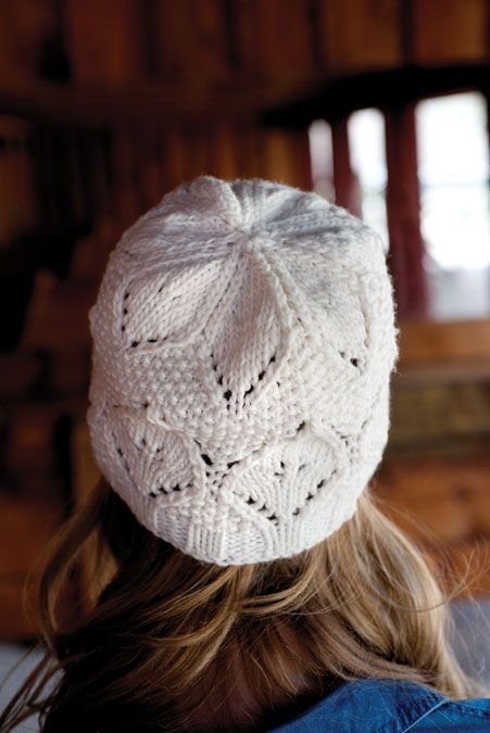 Leaf & Seed Knitted Hat Pattern | Knitting Daily