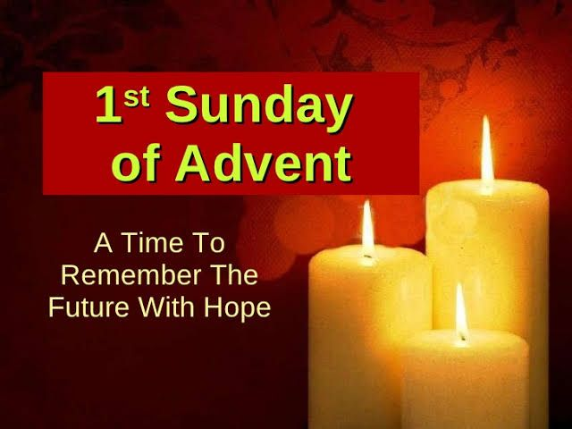 what are the advent candles called