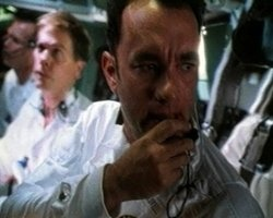 Apollo 13 -- True story of the moon-bound mission that developed severe trouble and the men that rescued it with skill and dedication.