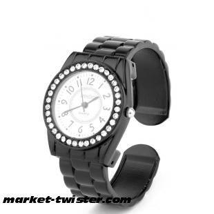 Diamante Face Bracelet Watch