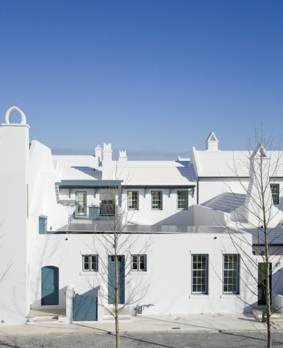 Mediterranean Style Homes In Florida: Alys Beach, FL. This Mediterranean Style Beach Community