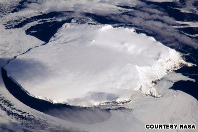 Bouvet Island is unihabited with sheer cliffs, remains covered (almost entirely) by a glacier and, in winter, its seas are pack-ice.  It's nearest neighbor is Antarctica, a thousand miles SOUTH!