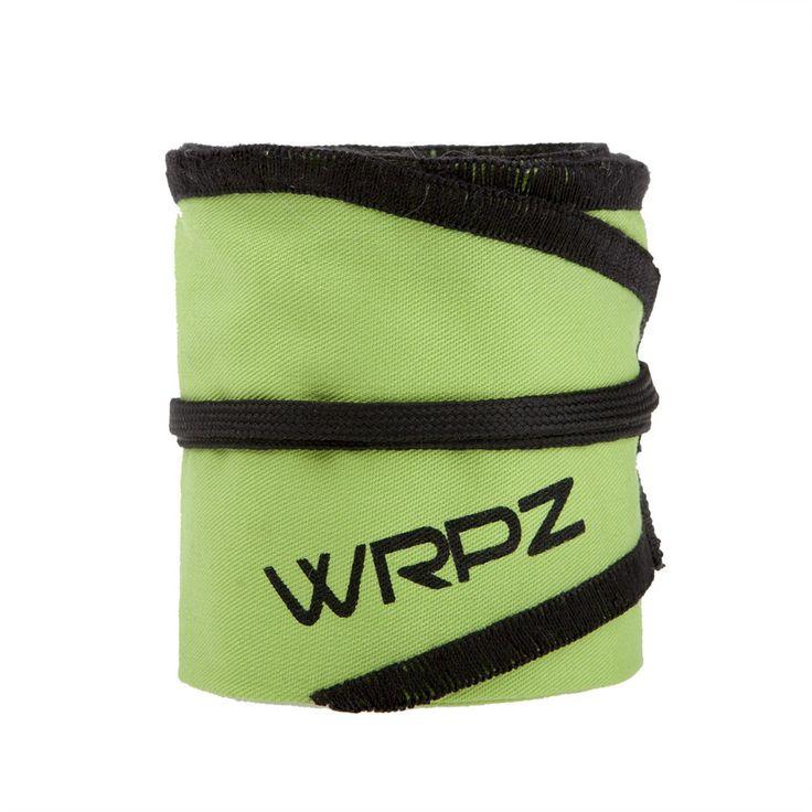 """Om """"The Green Lantern"""", skulle lyfta tungt skulle han utan tvivel använda dessa neongröna och svarta Wrist Wraps i bomull."""
