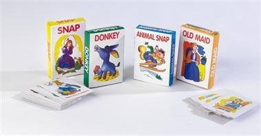 Card Games. 4 games: Snap, Donkey, Animal Snap and Old Maid.