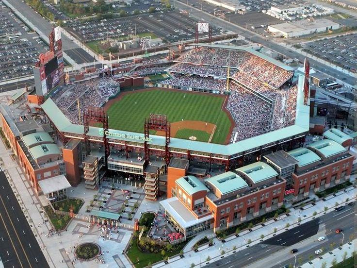 Philadelphia Phillies stadium  Citizens Bank. Been here!