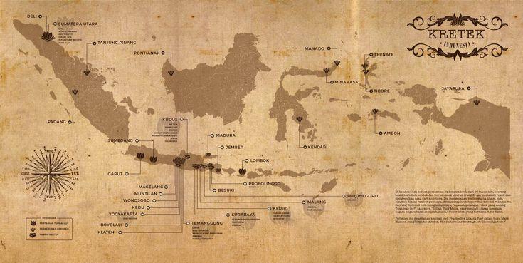 Peta Kretek Nusantara.