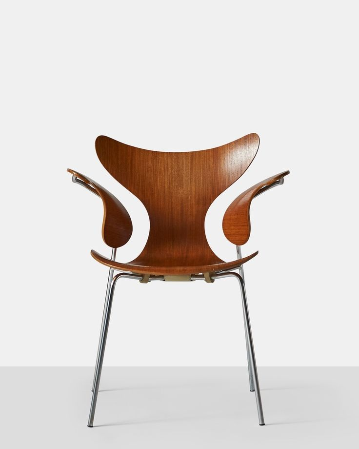 Arne Jacobsen Armchair The Lily Model 3208 1970 S Almond And